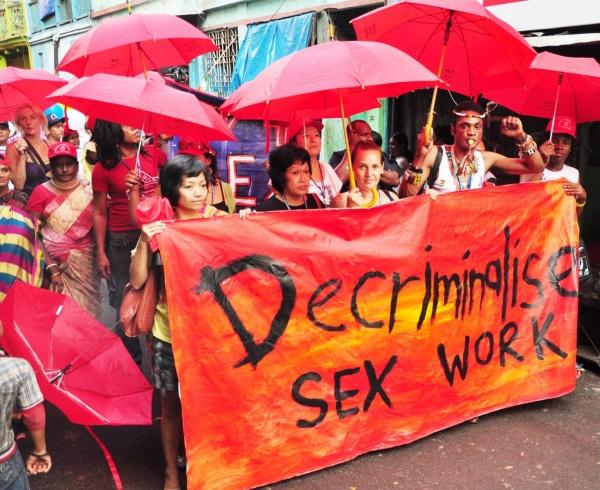 decriminalise sex work