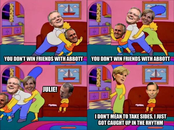 friends with abbott