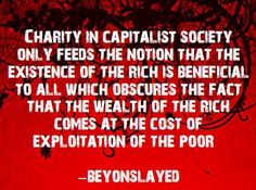charity and capitalism