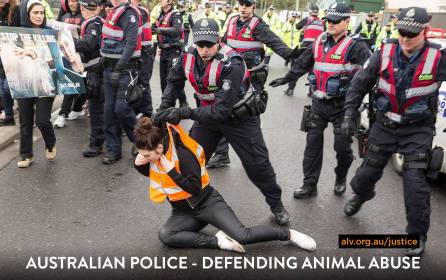 Aus police, defending animal abuse